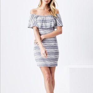 Sadie and sage Bloomingdales boho mini dress
